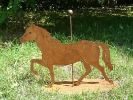 Kunstobjekt Pferd