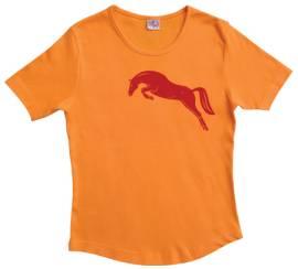 T-Shirt mit ausdrucksstarkem Pferd