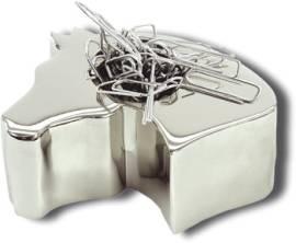 Stifthalter und zugleich Büroklammermagnet