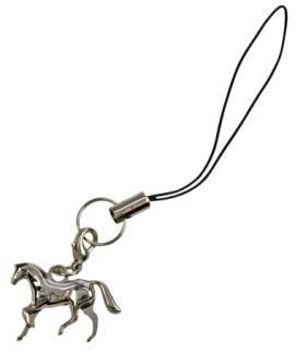 Ketten- oder Handyanhänger galoppierendes Pferd