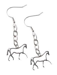 Ohrhänger trabendes Pferd