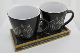 Tafelkreide-Tassen Pferdekopf