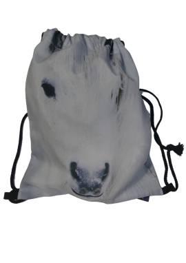 Sportbeutel, Rucksack, Frühstückstasche, Putzbeutel Pferd