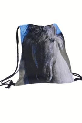 Rucksack Grauschimmel Pony